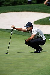 June 1, 2018 - Dublin, OH, U.S. - DUBLIN, OH - JUNE 01:  Abraham Ancer during the second round of the Memorial Tournament at Muirfield Village Golf Club in Dublin, Ohio on June 01, 2018. (Photo by Shelley Lipton/Icon Sportswire) (Credit Image: © Shelley Lipton/Icon SMI via ZUMA Press)