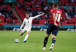 England's Jordan Henderson in action during the UEFA Euro 2020 Group D match at Wembley Stadium, London. Picture date: Tuesday June 22, 2021.
