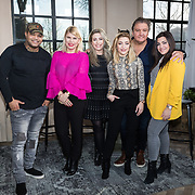 NLD/Muiden/20180214 - Kick off SBS Vet Fit, Brace, Annemarie Jung, O'G3NE, Lisa Vol, Amy Vol en Shelley Vol en Rene Froger