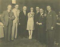 1928 Charles Toberman at a Breakfast Club meeting