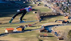 31.12.2016, Olympiaschanze, Garmisch Partenkirchen, GER, FIS Weltcup Ski Sprung, Vierschanzentournee, Garmisch Partenkirchen, Training, im Bild Severin Freund (GER) // Severin Freund of Germany during his Practice Jump for the Four Hills Tournament of FIS Ski Jumping World Cup at the Olympiaschanze in Garmisch Partenkirchen, Germany on 2016/12/31. EXPA Pictures © 2016, PhotoCredit: EXPA/ Jakob Gruber
