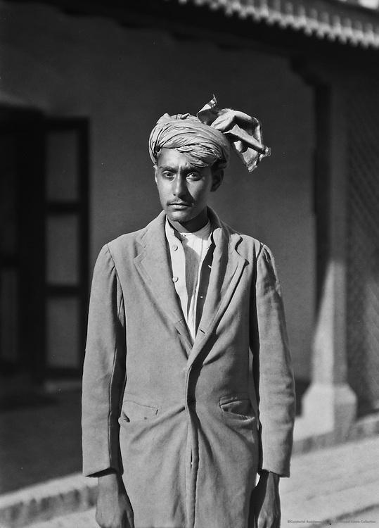 A Young Afghan, Peshawar, India, 1929