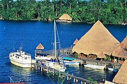 Ship Yard On Rio Dulce
