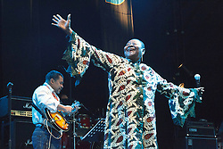 Calypso Rose performing at WOMAD Charlton Park 2010.