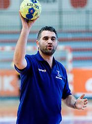 Assistant coach Boris Denic at practice of Slovenian Handball Men National Team, on June 4, 2009, in Arena Kodeljevo, Ljubljana, Slovenia. (Photo by Vid Ponikvar / Sportida)