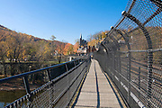 Bridge leading to Harpers Ferry. Maryland. United States of America.