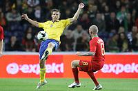 20090328: PORTO, PORTUGAL - Portugal vs Sweden: World Cup 2010 Qualifying Match. In picture:svensso and raul meireles  . PHOTO: Ricardo Estudante/CITYFILES