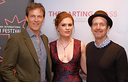 Edinburgh International Film Festival, Saturday, 24 June 2018<br /> <br /> THE PARTING GLASS (WORLD PREMIERE)<br /> <br /> Pictured:  Stephen Moyer, Anna Paquin and Denis O'Hare <br /> <br /> <br /> (c) Alex Todd | Edinburgh Elite media