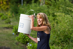 FOCB summer fundraiser hosted in Freeport, Maine at the home of Scott and Joan Samuelson Ivy Frignoca, Casco Baykeeper,