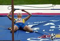 Friidrett, 23. august 2003, VM Paris,( World Championschip in Athletics),  Carolina Klüft, Sverige