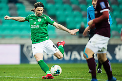 Ante Vukusic of NK Olimpija during football match between NK Olimpija Ljubljana and NK Triglav Kranj in Round #22 of Prva liga Telekom Slovenije 2019/20, 25 February, 2020 in Stadium Stozice, Ljubljana, Slovenia. Photo By Grega Valancic / Sportida
