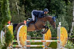 Van Der Vleuten Eric, NED, Liewe<br /> Nationaal Kampioenschap KWPN<br /> 4 jarigen springen final<br /> Stal Tops - Valkenswaard 2020<br /> © Hippo Foto - Dirk Caremans<br /> 19/08/2020