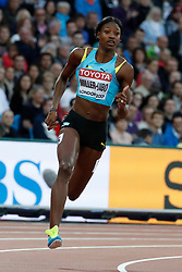 Bahamas's Shaunae Miller-Uibo in the first round of the 200 meters women during the IAAF World Athletics 2017 Championships In Olympic Stadium, Queen Elisabeth Park, London, UK on August 8, 2017 Photo by Henri Szwarc/ABACAPRESS.COM