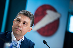 11.06.2019, UniCredit Bank Austria Zentrale, Wien, AUT, Pressekonferenz Dominic Thiem nach French-Open-Finale, im Bild Finanzvorstand der UniCredit Bank Austria Gregor Hofstätter-Pobst // CFO Gregor Hofstaetter-Pobst during an media briefing after the French Open Finals in Vienna, Austria on 2019/06/11. EXPA Pictures © 2019, PhotoCredit: EXPA/ Michael Gruber
