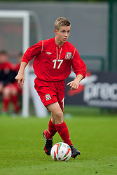 NEWPORT, WALES - Tuesday, May 27, 2014: Regional Boys' Craig Davies during the Welsh Football Trust Cymru Cup 2014 at Dragon Park. (Pic by David Rawcliffe/Propaganda)