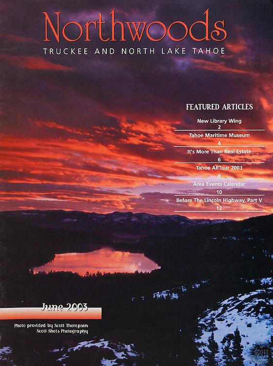 Northwoods Magazine Cover