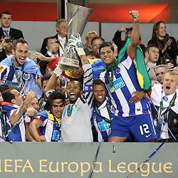 20110518: IRL, Football - UEFA Europaleague Final 2011, Porto vs Braga