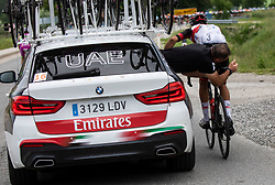 Rui Filipe OLIVEIRA of UAE TEAM EMIRATES during 1st Stage of 27th Tour of Slovenia 2021 cycling race between Ptuj and Rogaska Slatina (151,5 km), on June 9, 2021 in Slovenia. Photo by Vid Ponikvar / Sportida