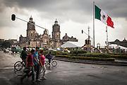 Zócalo de la Ciudad de México, 25 de julio de 2014. (Foto: Prometeo Lucero)