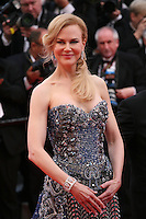 Nicole Kidman at the the Grace of Monaco gala screening and opening ceremony red carpet at the 67th Cannes Film Festival France. Wednesday 14th May 2014 in Cannes Film Festival, France.