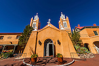 San Felipe de Neri Church, Old Town, Albuquerque, New Mexico USA