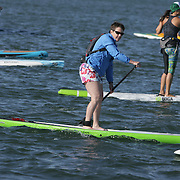 The Carolia Cup Stand Up Paddleboard race was held Saturday April 26, 2014 at Wrightsville Beach, N.C.  (Jason A. Frizzelle)