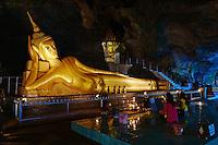 Thailande, province de Phang Nga, grotte bouddhiste de Wat Tham Suwan Khuha // Thailand, Phang Nga Bay, Wat Tham Suwan Khuha buddhist cave