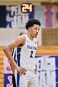 NORTH AUGUSTA, SC. July 10, 2019. Cade Cunningham 2020 #2 of Texas Titans 17u at Nike Peach Jam in North Augusta, SC. <br /> NOTE TO USER: Mandatory Copyright Notice: Photo by Alex Woodhouse / Jon Lopez Creative / Nike