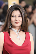 Model Sangeeta Bijlani arriving at the International Indian Film Academy Awards (IIFA) ceremony at the Hallam Arena in Sheffield for the annual IIFA awards. The awards were known as the 'Bollywood Oscars' and ran from 7-10th June. They were watched by an estimated global television audience 500 million people.