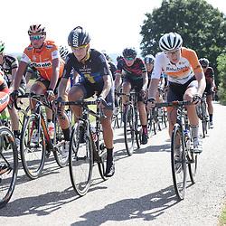 04-09-2016: Wielrennen: Ladies Tour: Valkenburg<br />VALKENBURG (NED) wielrennen  <br />Olympische medaille winnaars in Emma Johansson, Anna van der Breggen