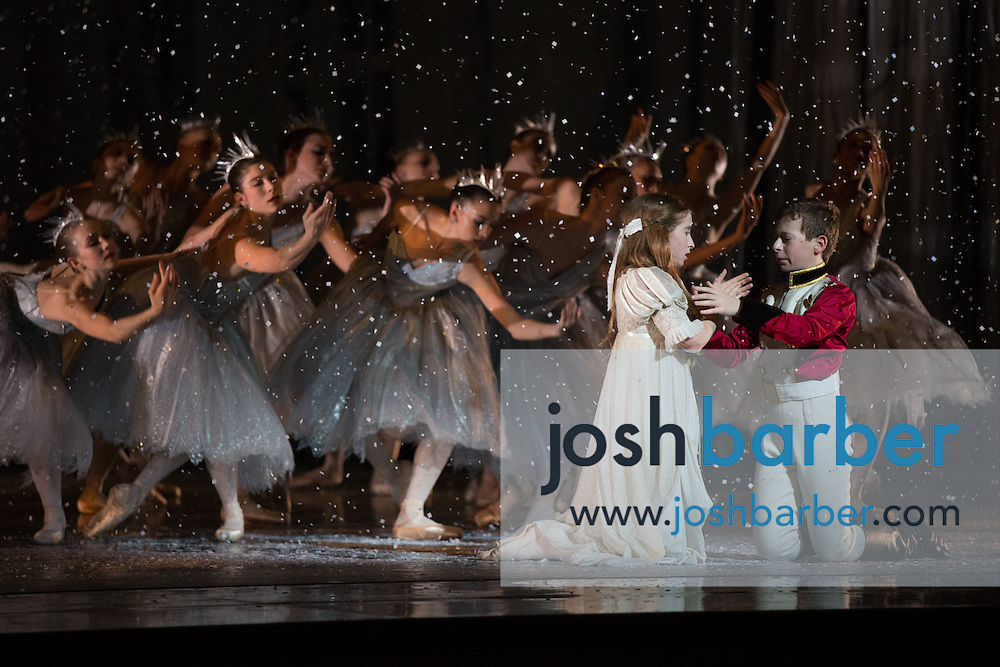 """Seth Koffler, Claudia Schuman during American Ballet Theatre's performance of """"The Nutcracker"""" at Segerstrom Center for the Arts on Thursday, December 10, 2015 in Costa Mesa, California. (Photo/Josh Barber)"""