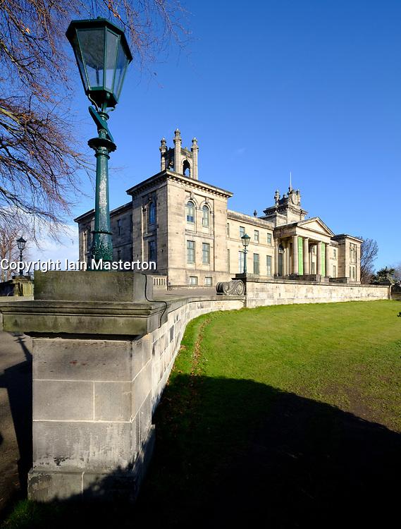 Exterior view of Scottish National Gallery of Modern Art - Two, in Edinburgh, Scotland, UK