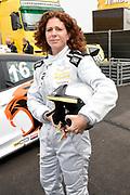 De Jumbo Racedagen, driven by Max Verstappen op Circuit Zandvoort. / The Jumbo Race Days, driven by Max Verstappen at Circuit Zandvoort.<br /> <br /> Op de foto / On the photo:  Barbara Barend