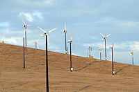 Wind Turbins, near Los Banos, CA