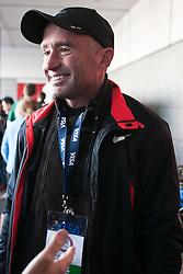 Coach Alberto Salazar; 2012 USA Olympic Marathon Trials