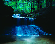 Creation Falls, Red River Gorge Geologic Area, Daniel Boone National Forest, Kentucky.