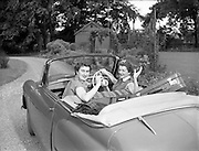 04/08/1953<br /> 08/04/1953 <br /> 4 August 1953<br /> <br /> Nellie Mulcahy  special at RDS Horse Show and Rathmines, Special for Ita Hynes. Hillman Minx convertible car