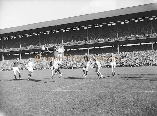Down v Offaly All Ireland Senior Gaelic Football Final in Croke Park on 24th September 1961. Down 3-6 Offaly 2-8.