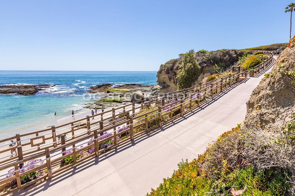 Pedestrian Walkway to Treasure Island Beach