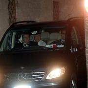 ITA/Bracchiano/20061118 - Huwelijk Tom Cruise en Katie Holmes, aankomst huisadvocaat Tom Cruise, dhr. Burt Fields