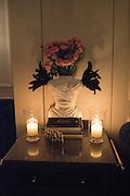 Nicky Haslam hosts dinner at  Gigi's for Leslie Caron. 22 Woodstock St. London. W1C 2AR. 25 March 2015