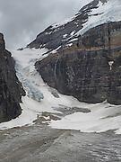 Victoria Glacier, along the Plain of Six Glaciers Trail, near Lake Louise, Banff National Park, Alberta, Canada