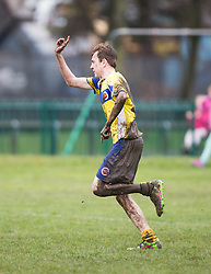 Stenny dad's football game, Stenhousemuir.