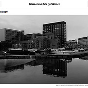 """Screengrab of """"Google HQ in Dublin"""" published in The New York Times"""