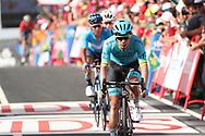 Miguel Angel Lopez (COL - Astana Pro Team) , during the UCI World Tour, Tour of Spain (Vuelta) 2018, Stage 9, Talavera de la Reina - La Covatilla 200,8 km in Spain, on September 3rd, 2018 - Photo Luis Angel Gomez / BettiniPhoto / ProSportsImages / DPPI