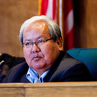 012613      Brian Leddy<br /> Navajo Nation Speaker Johnny Naize was reelected to post Monday.