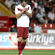 Trabzonspor's Halil Altintop during their Turkish superleague soccer match Gaziantepspor between Trabzonspor at the Kamil Ocak stadium in Gaziantep Turkey on Sunday 02 September 2012. Photo by TURKPIX