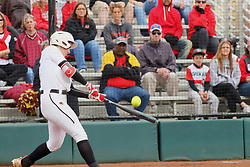21 April 2018:  Allison Spence during a Missouri Valley Conference (MVC) women's softball game between the Drake Bulldogs and the Illinois State Redbirds on Marian Kneer Field in Normal IL
