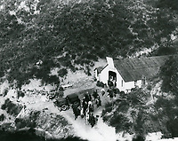 1924 Hollywoodland Riding Stables at the north end of Beachwood Dr.