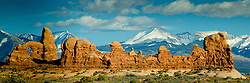 The Windows, Arches National Park, Utah, US